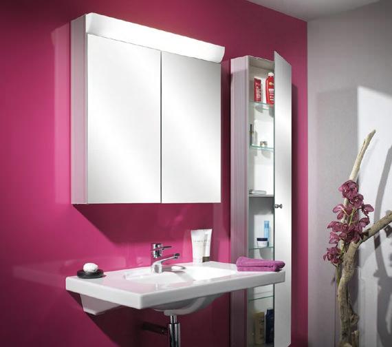 Alternate image of Schneider Wangaline 2 Door Mirror Cabinet - More Sizes Available