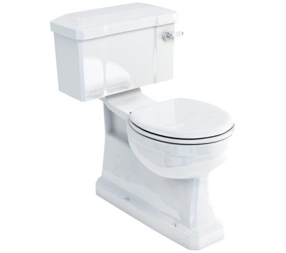 Burlington Close-Coupled WC With Lever Cistern 730mm