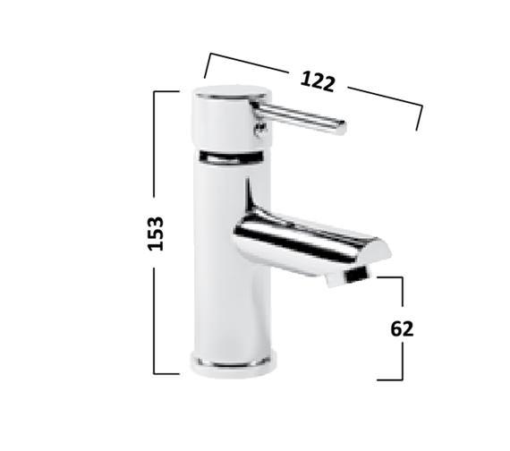 Technical drawing QS-V16509 / TLF12