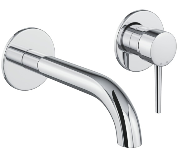 Abode Chao Wall Mounted 2 Hole Bath Mixer Tap