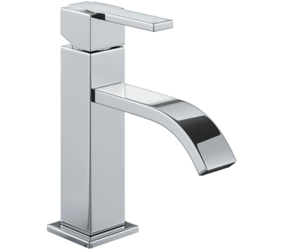 Abode Iso Monobloc Basin Mixer Tap 171mm - 331mm Height Optional