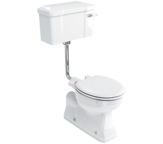 Burlington Concealed Bottom Outlet Low-Level Pan With Lever Cistern