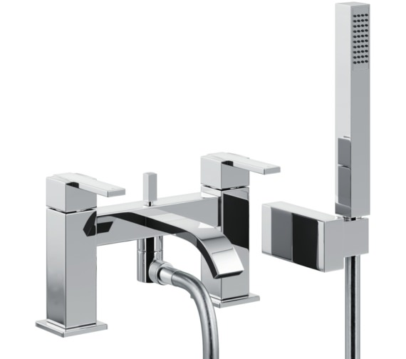 Abode Iso Deck Mounted Bath Shower Mixer Tap