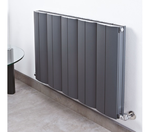 Phoenix Apollo 936 x 600mm White Aluminium Radiator