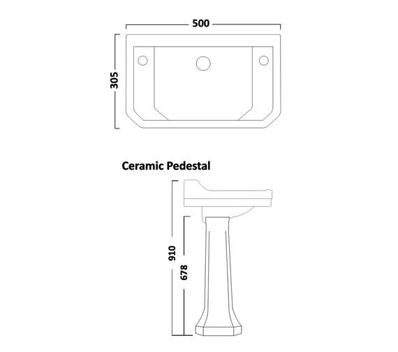 Technical drawing QS-V16519 / DB850CLS