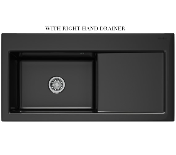 Alternate image of Franke Mythos Designer Pack MTK 611 Ceramic Black Kitchen Sink And Tap