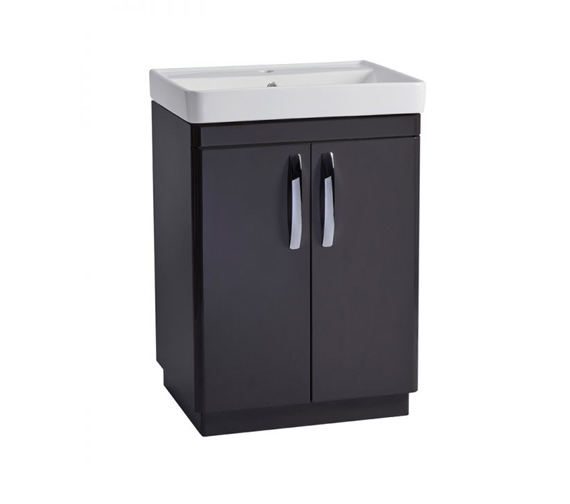Tavistock Compass 600mm Gloss Clay Vanity Unit And Basin