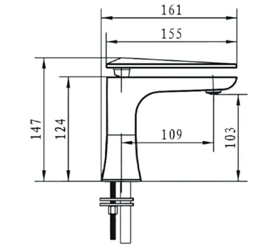 Technical drawing QS-V72664 / THPC04