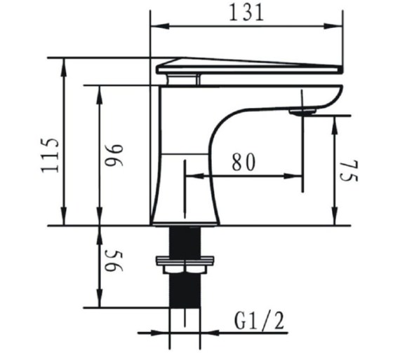 Technical drawing QS-V72666 / THPC00