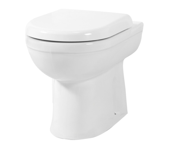 Phoenix Emma Back-To-Wall WC With Soft Close Seat And Cover 550mm