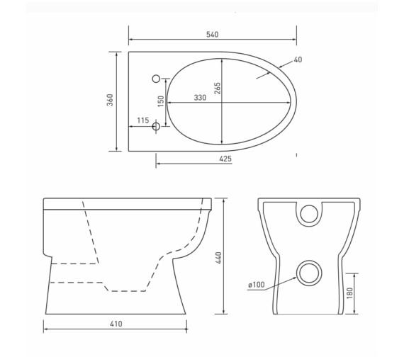Technical drawing QS-V21209 / EM045