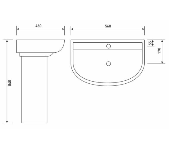 Technical drawing QS-V21211 / EM060