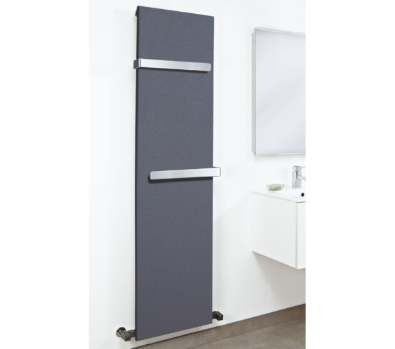 Phoenix K2 604 x 1800mm Anthracite Carbon Steel Radiator