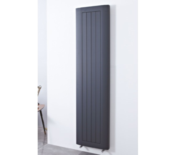Phoenix Peak 460 x 1880mm Anthracite Aluminium Radiator