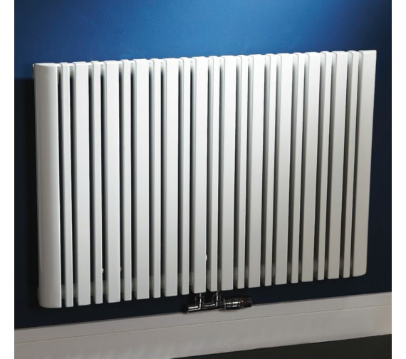 Phoenix Tower 945 x 600mm White Column Style Radiator