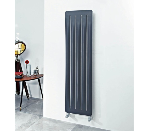 Phoenix Summit 410 x 1500mm Carbon Steel Radiator Anthracite
