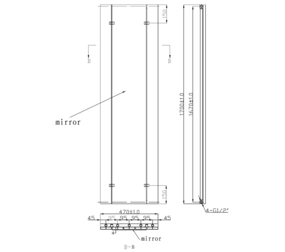 Technical drawing QS-V6641 / RA380
