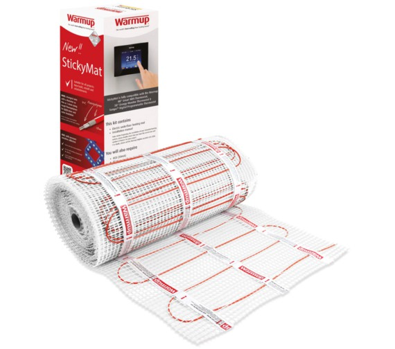 Warmup 200W Electric Underfloor Heating StickyMat System