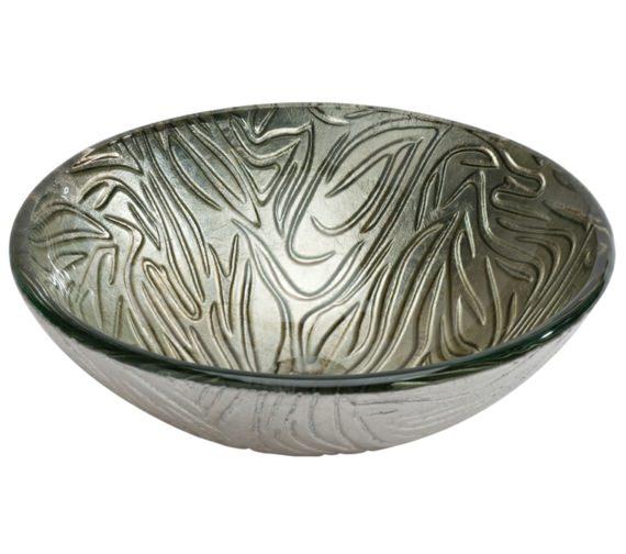 Beo Lavabo 420mm Round Countertop Silver Basin