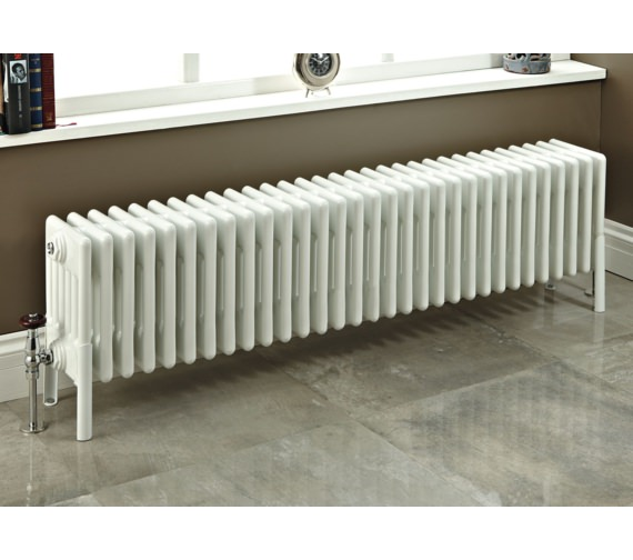 Phoenix Nicole 1010 x 300mm White 6 Column Radiator