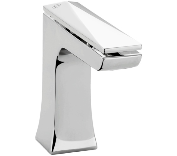 Heritage Hemsby Chrome 1 Taphole Basin Mixer Tap With Waste