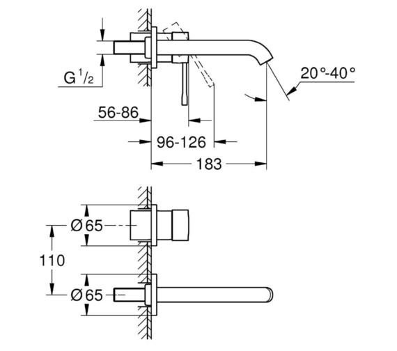 Technical drawing QS-V81759 / 19408001