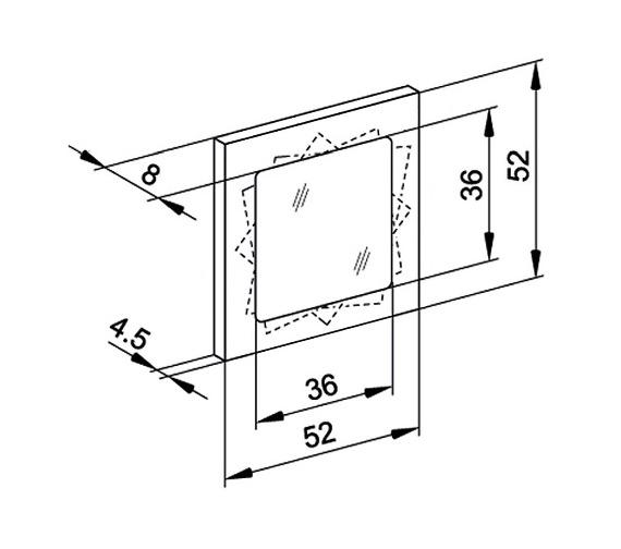 Technical drawing QS-V16669 / TRI/VAR 52/FL/SD