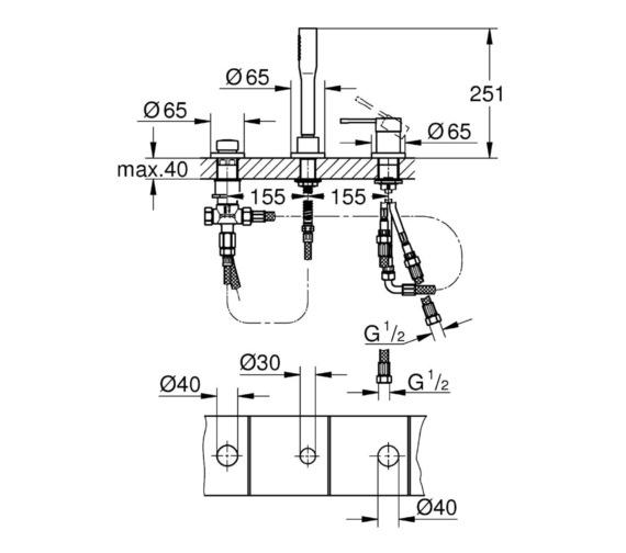 Technical drawing QS-V81761 / 19976001