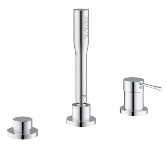 Grohe Essence New Single Lever 3 Hole Bath Combination