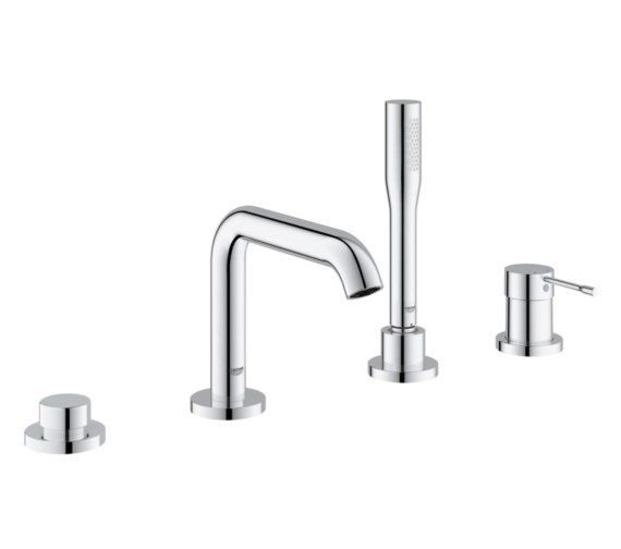 Grohe Essence New Single Lever 4 Hole Bath Combination