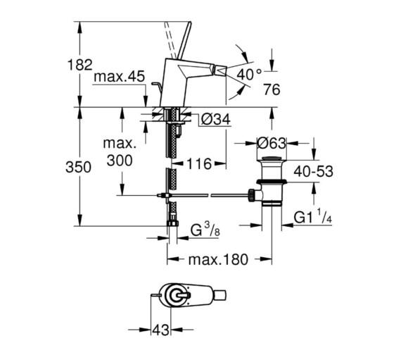 Technical drawing QS-V81776 / 24036000