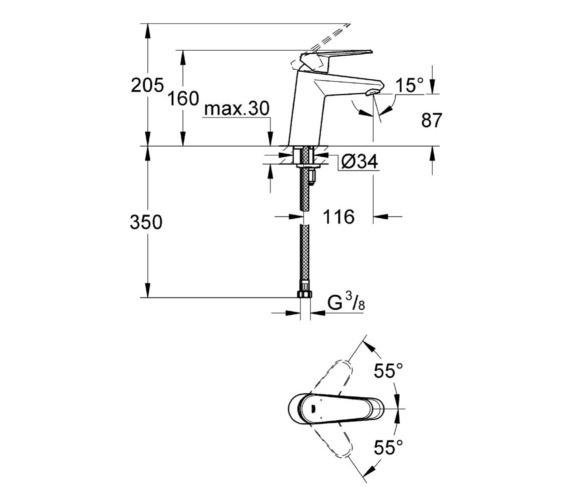 Technical drawing QS-V81787 / 3246920E