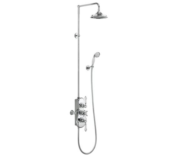 Burlington Spey 2 Outlet Exposed Thermostatic Shower Set