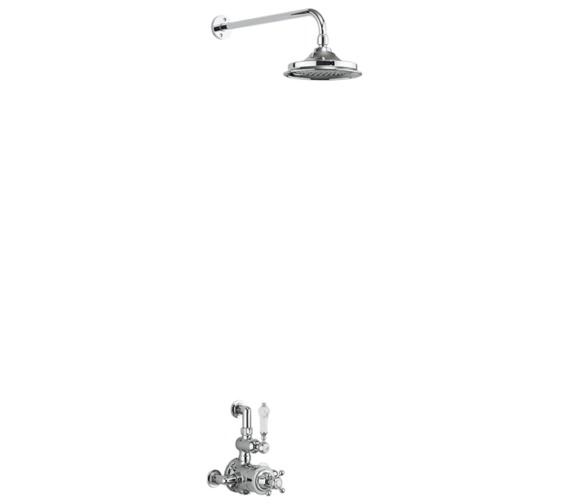 Burlington Avon Exposed Thermostatic Valve With Shower Head And Arm