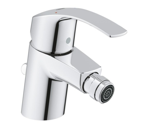 Grohe Eurosmart S-Size Half Inch Bidet Mixer Tap With Pop Up Waste