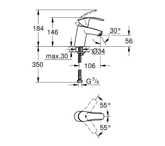 Technical drawing QS-V81794 / 3246720L