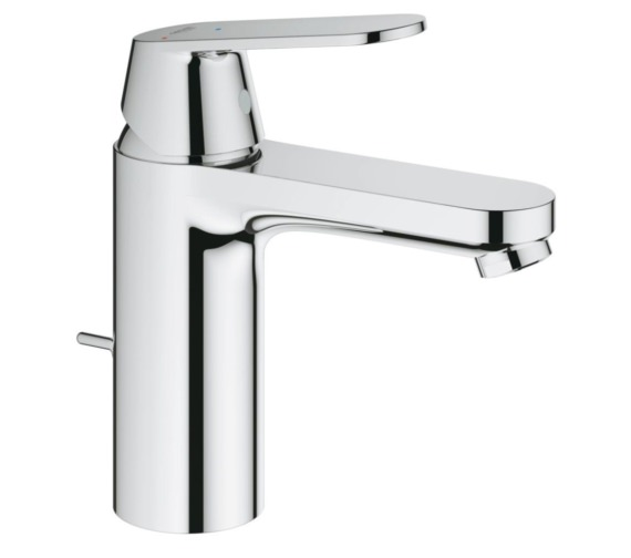 Grohe Eurosmart M-Size Half Inch Basin Mixer Tap With Pop Up Waste