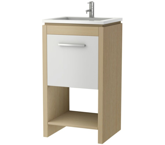 Croydex Bowmont 440mm Floor Standing Basin Vanity Unit