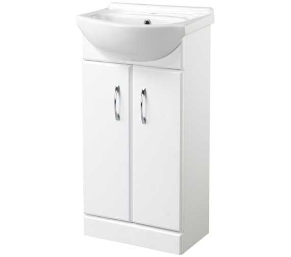 Croydex Kinsford 455mm Double Door Basin Vanity Unit