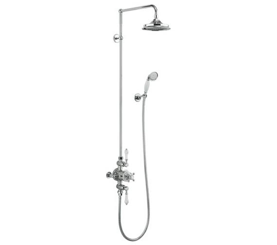 Burlington Avon 2 Outlet Exposed Thermostatic Shower Set
