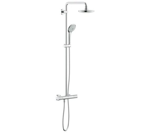 Grohe Euphoria 180 Thermostatic Wall Mounted Shower System