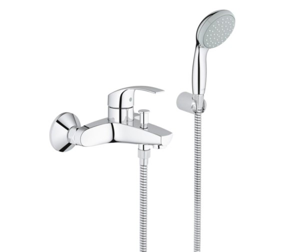 Grohe Eurosmart Half Inch Single Lever Bath Shower Mixer Set