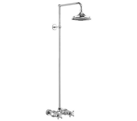 Burlington Eden 1 Outlet Exposed Thermostatic Shower Set