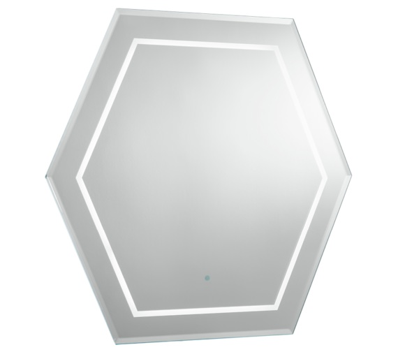 Bauhaus Waldorf 600 x 600mm Illuminated Mirror