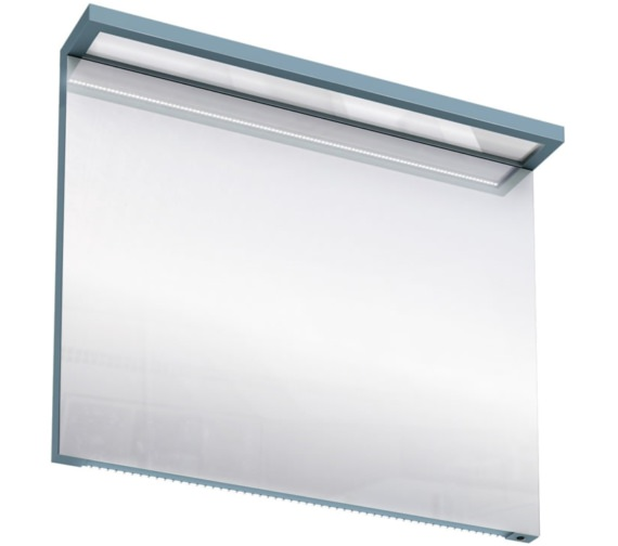 Additional image of Britton Aqua Cabinets 900mm LED Mirror With Infrared Sensor - White