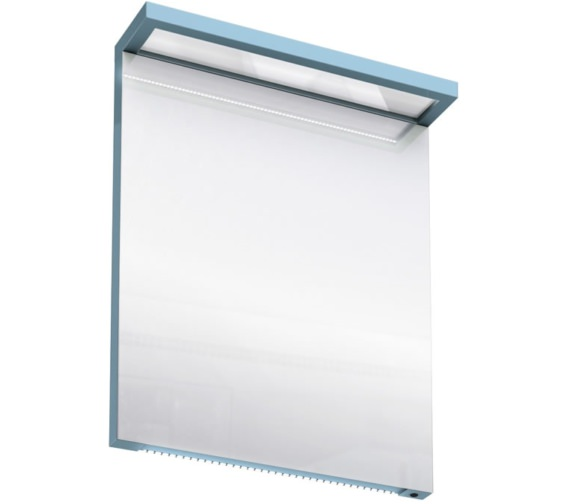 Additional image of Britton Aqua Cabinets 600mm LED Mirror With Infrared Sensor - White