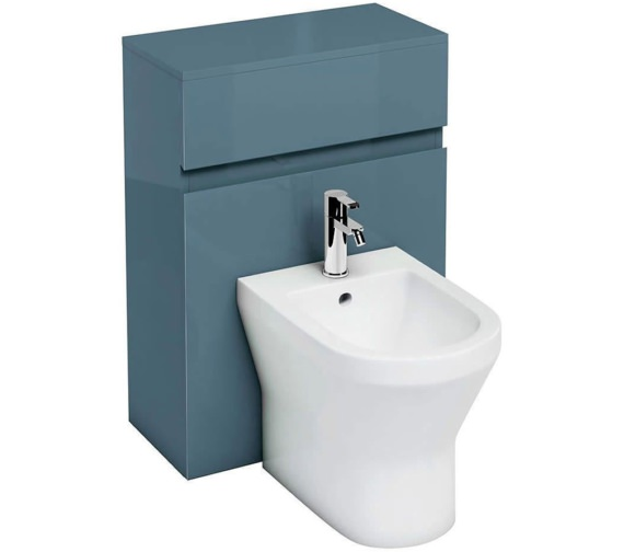 Additional image of Britton Aqua Cabinets D300 White 600mm Back To Wall Bidet Unit