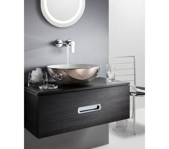 Alternate image of Bauhaus Gallery Castellon Plus Platinum Countertop Basin