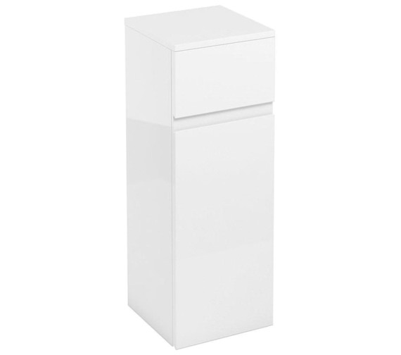 Britton Aqua Cabinets D30 White 300mm Floor Standing Single Door Unit