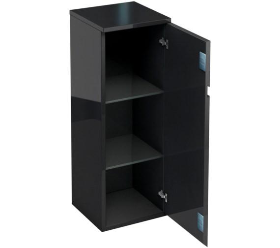 Additional image of Britton Aqua Cabinets D30 White 300mm Floor Standing Single Door Unit